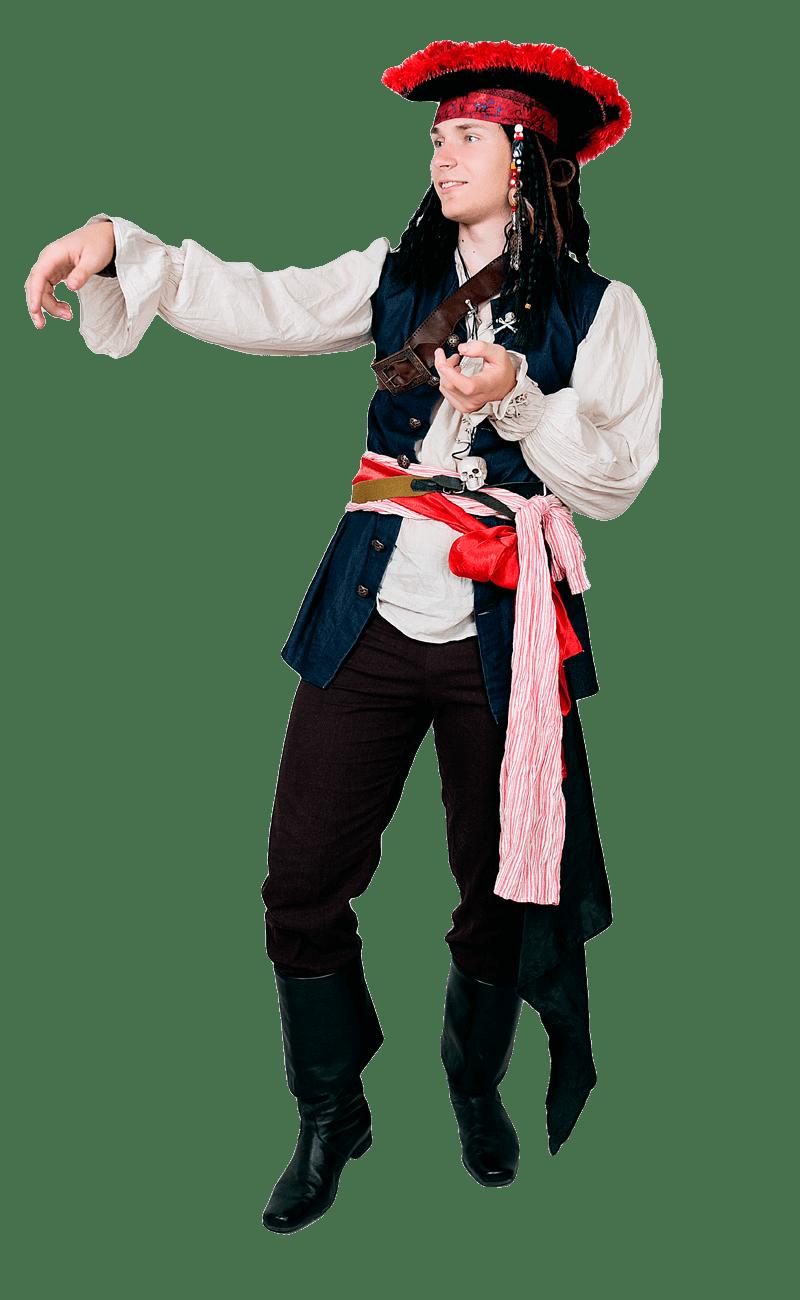 Аниматор пират - Джек Воробей